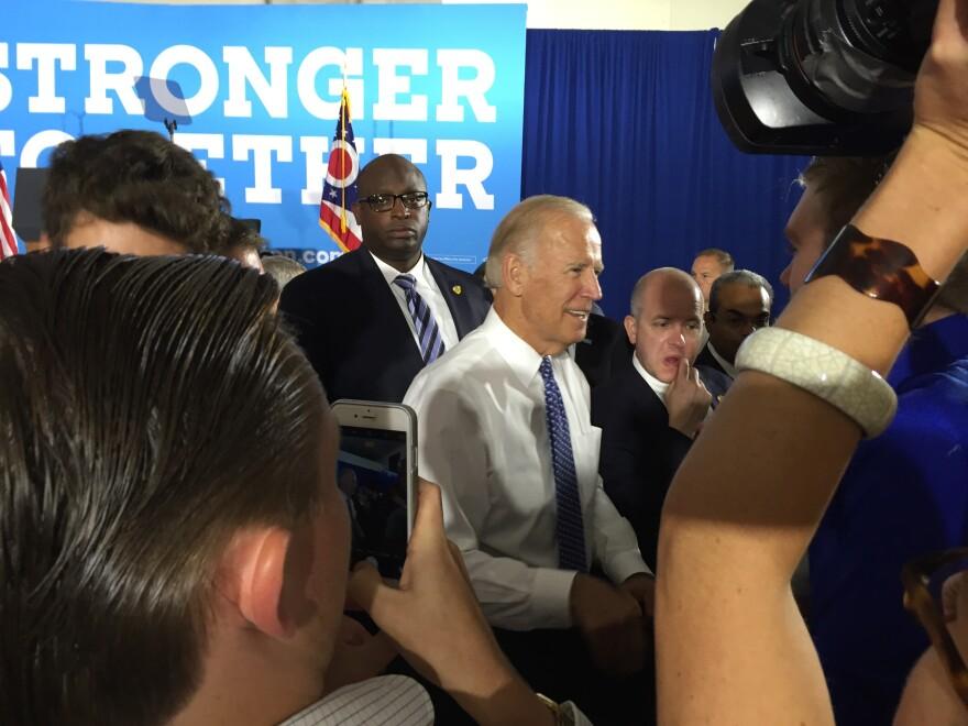 Biden after speech