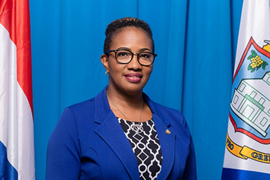 St. Marteen Prime Minister Silveria Jacobs has been praised for her administration's response to the coronavirus.