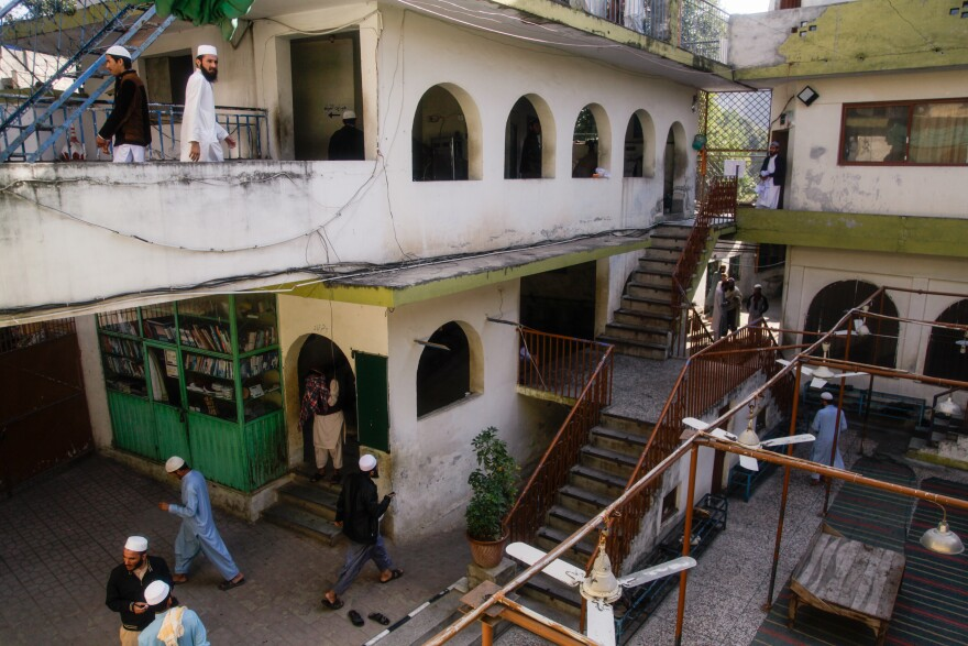 Jamia Muhammadia is a madrassa in the Pakistani capital Islamabad.