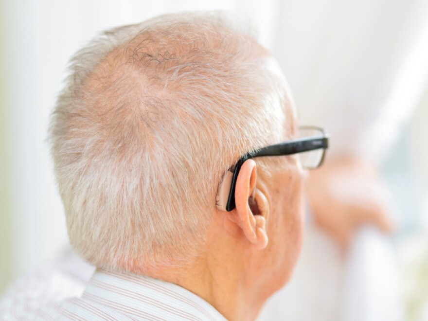 Traditional Medicare doesn't pay for hearing aids, so some in Congress would like to give purchasers a tax break.