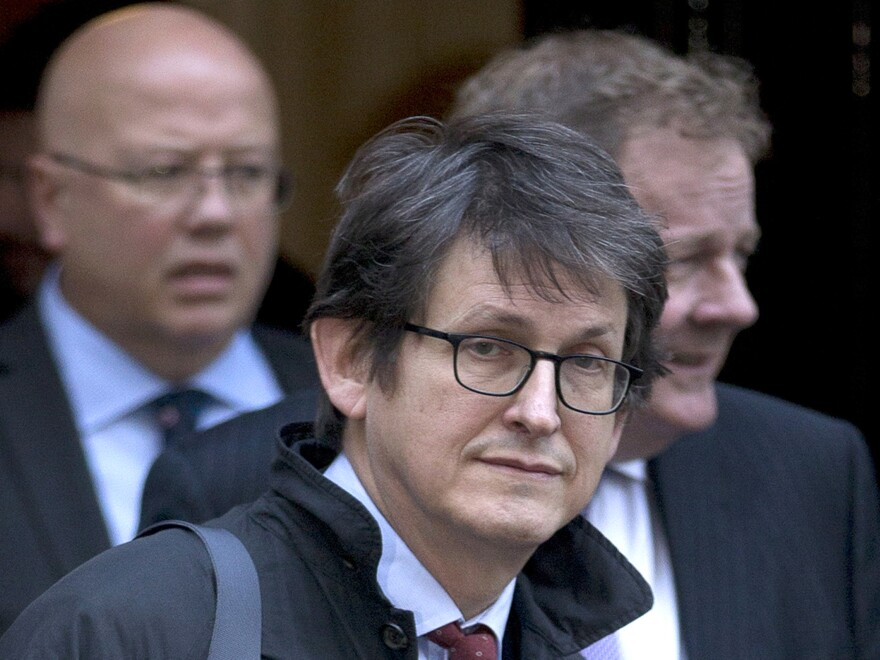 Alan Rusbridger said today that he will step down as editor in chief of the <em>Guardian</em> next summer. Rusbridger oversaw the U.K. newspaper's publication of Edward Snowden's leak of classified material.