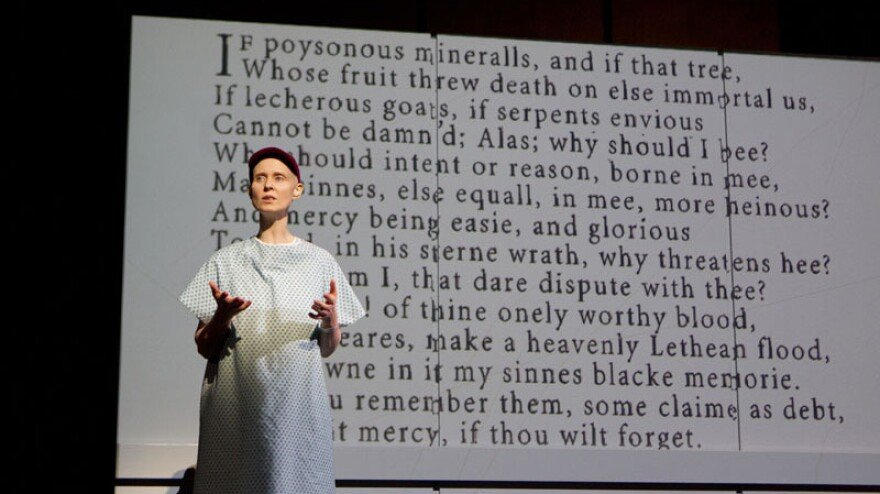 In a revival of <em>Wit </em>on Broadway, Cynthia Nixon plays Vivan Bearing, a brilliant John Donne scholar forced to consider her own mortality when she's diagnosed with ovarian cancer.