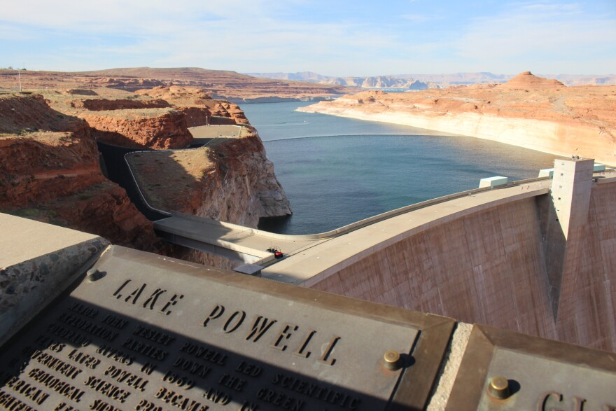 Warmer temperatures, diminished snowpack and demands for water have caused Lake Powell on the Colorado River to stay well below capacity in recent years.