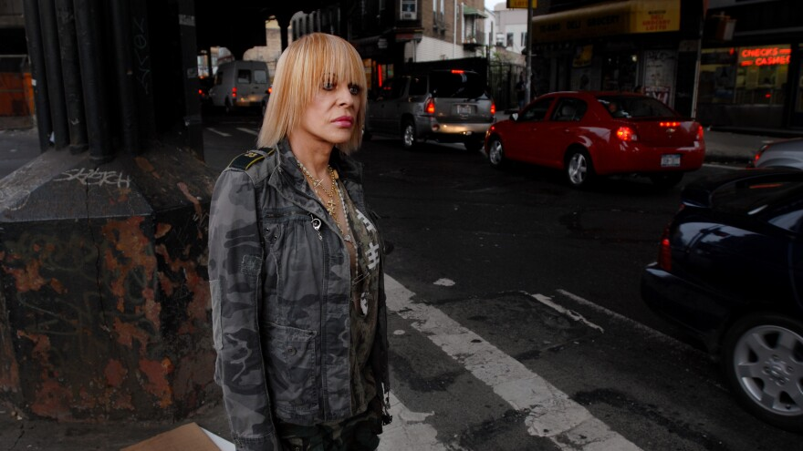 Genesis Breyer P-Orridge, photographed in New York on Aug. 19, 2007. The artist, best known for their work in the groups Throbbing Gristle and Psychic TV, died on March 14, 2020.
