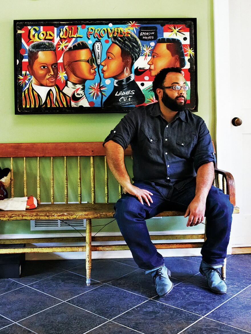 Kevin Young's 2012 essay collection <em>The Grey Album: On The Blackness Of Blackness</em> was a finalist for the National Book Critics Circle Award.