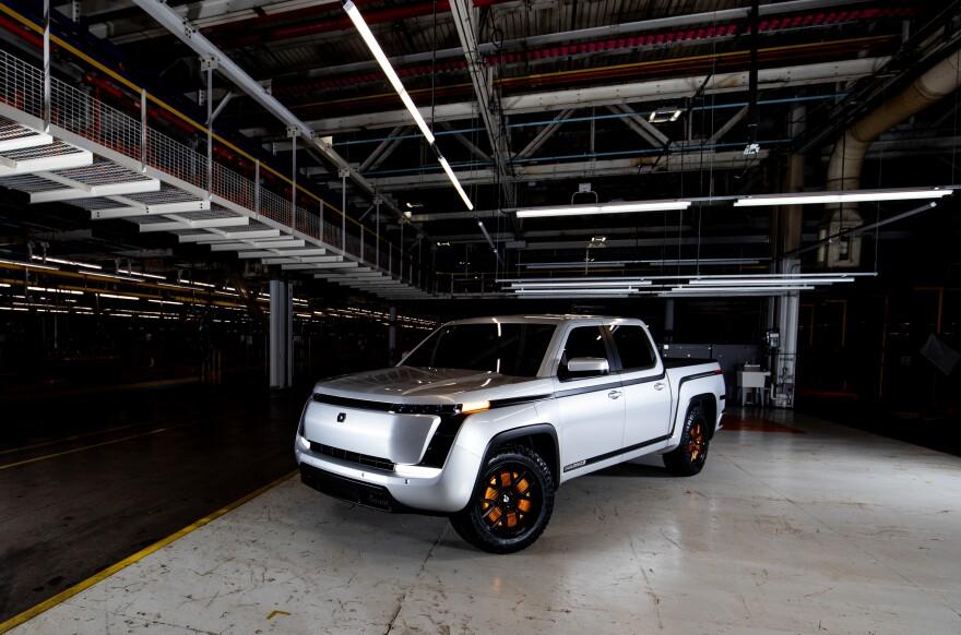 photo of pickup truck