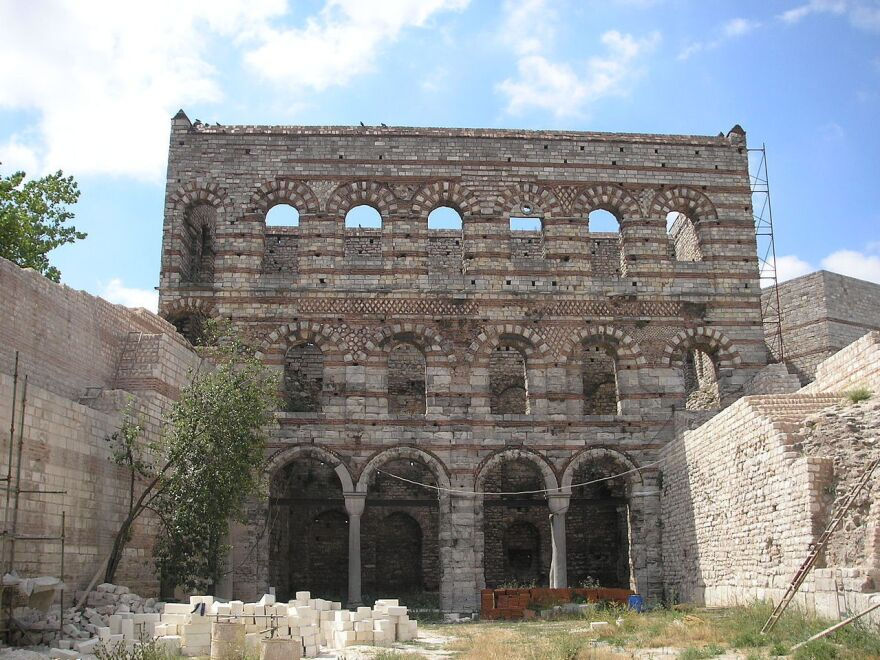 "Tekfur Palace is also known as the Palace of Phorphyrogenitus, or ""born to the purple"" in Greek. It was home to the last Byzantine emperor."