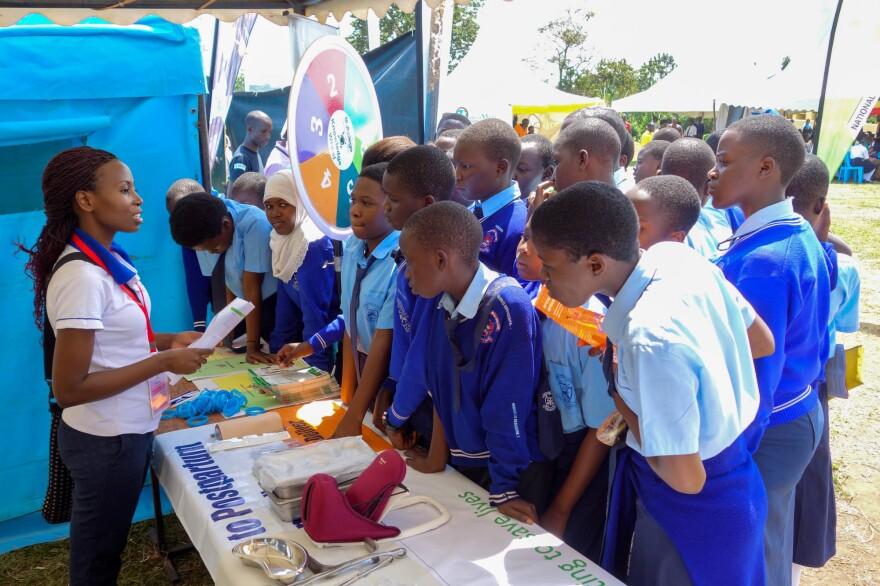 To mark Safe Motherhood Day 2016, Ritah Namwiza talked to Ugandan students about health.