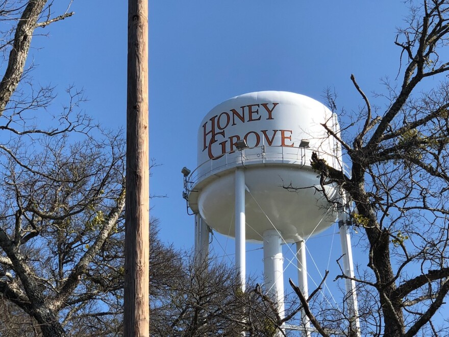 The town of Honey Grove is about a 30-minute drive from the Texas-Oklahoma border. It's not uncommon to see tractors travel down two-lane roads, cattle grazing farmland and grain silos.
