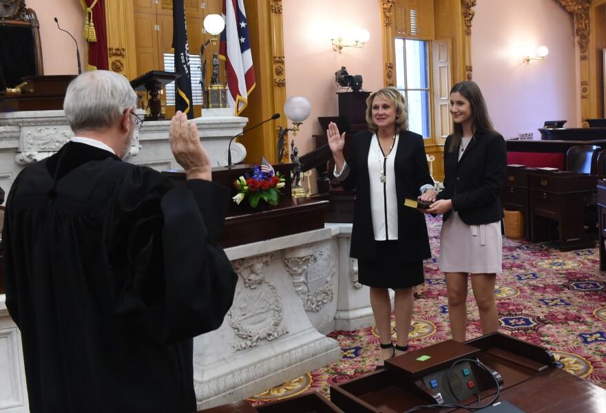 State Rep. Gail Pavliga sworn into office Jan. 4