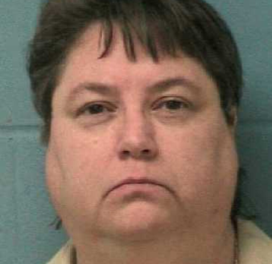 Death row inmate Kelly Renee Gissendaner is seen in an undated picture from the Georgia Department of Corrections. Following repeated delays, Georgia carried out its first execution of a woman in 70 years on Tuesday evening.
