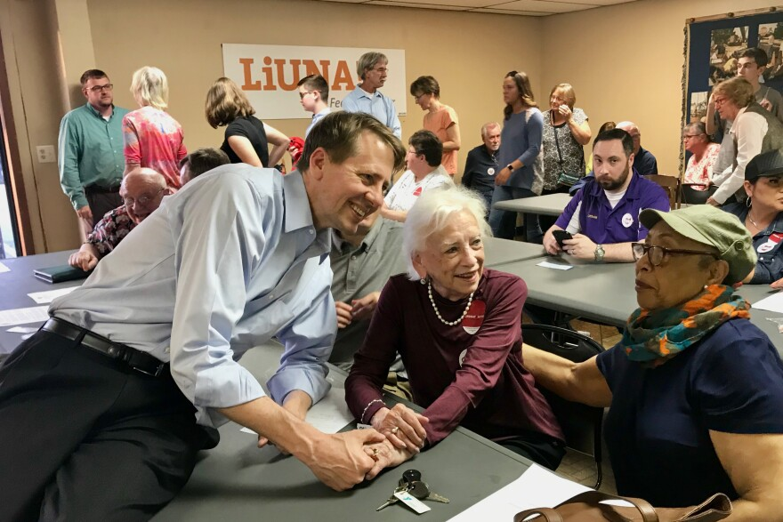 Rich Cordray has a 2-1 lead over Dennis Kucinich, but 41 percent of the likely Democratic primary voters say they still haven't made up their mind.