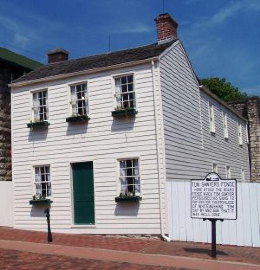 The Mark Twain home 2008