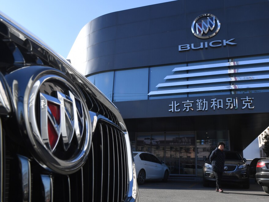 China announced it is imposing new tariffs on imported U.S. autos and auto parts, due to go into effect Dec. 15.