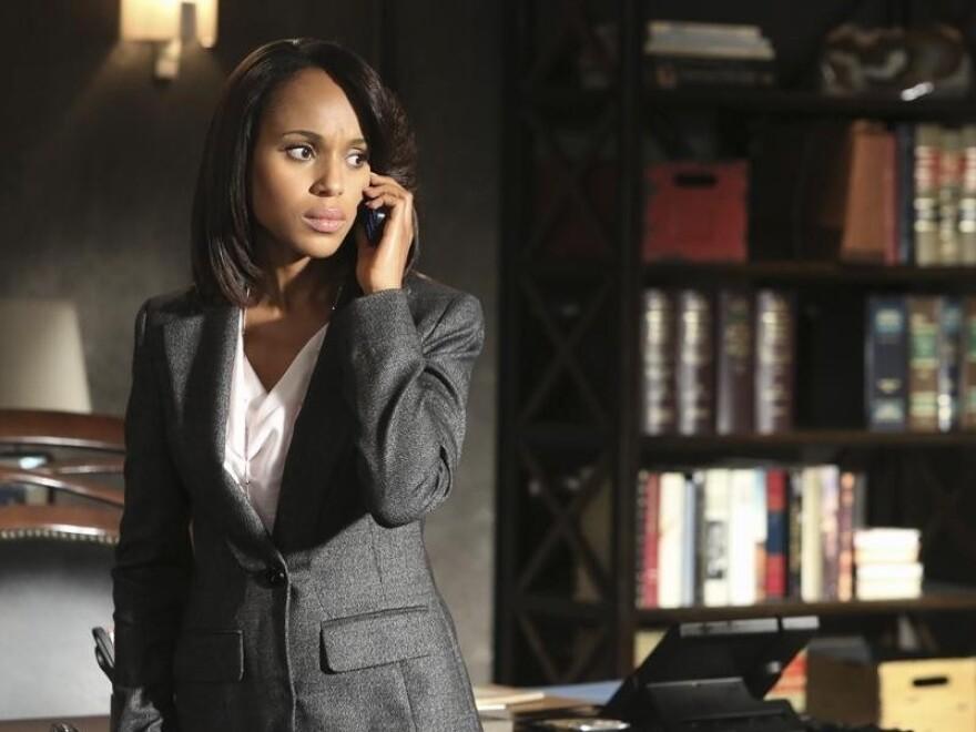 Kerry Washington (Emmy nominee!) plays Olivia Pope on <em>Scandal</em>.