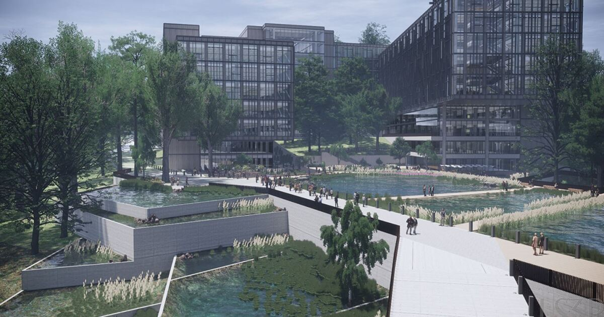 Phase One Construction On Centene East Coast HQ In Charlotte To Wrap Up In 2022