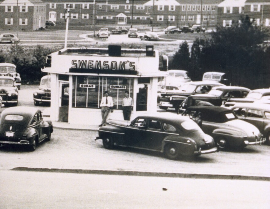 historical photo of Swensons