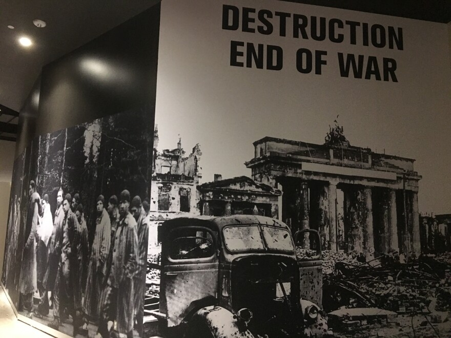 War time photos will fill entire walls of the new downtown Dallas museum.