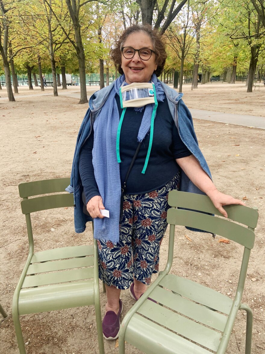 """Françoise de Brugada says difficulties in comprehension are not just about reading lips. """"It's all the muscles of the face, and the eyes and the nose and the expressions,"""" she says. """"You can see all that moving, and it makes you understand much more."""""""