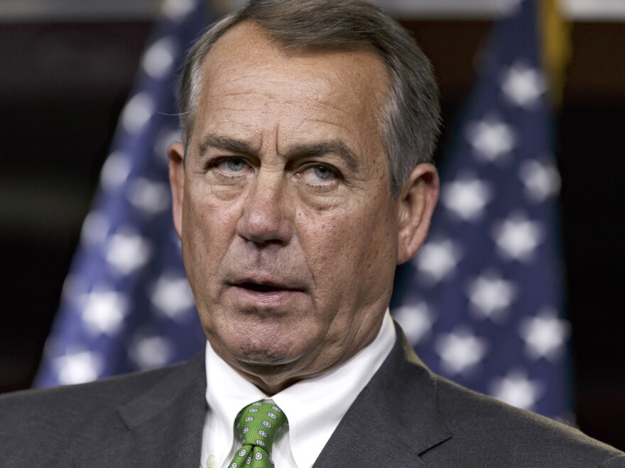 House Speaker John Boehner has expressed cautious support for the White House plan. He and other House GOP leaders are backing a measure to authorize the arming and training of moderate Syrian rebels.