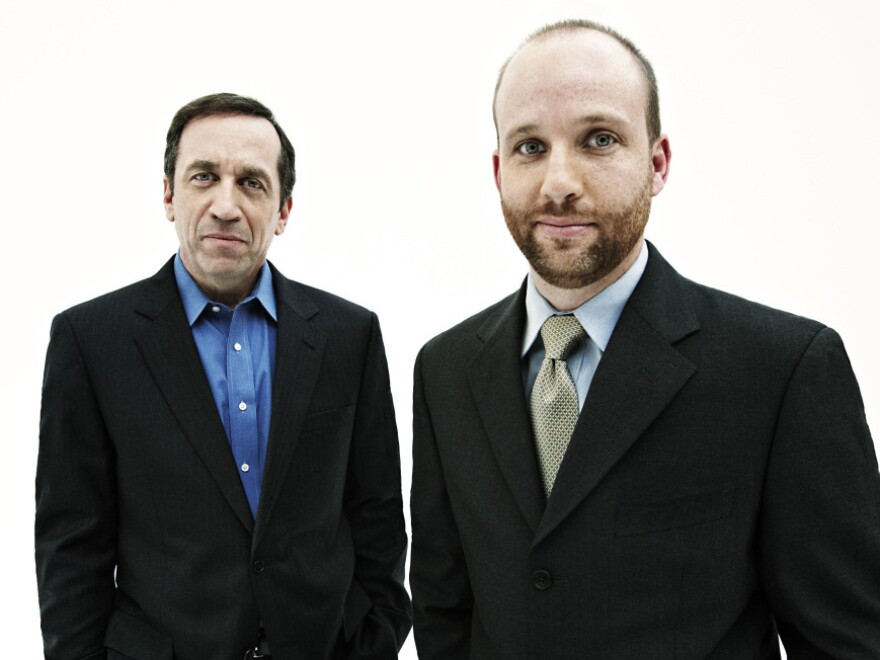 Michael Kranish (left) is the deputy chief of the Washington bureau of <em>The Boston Globe</em>. Scott Helman is a staff writer at <em>The Boston Globe</em>. Both reporters have covered politics, presidential campaigns and Congress.