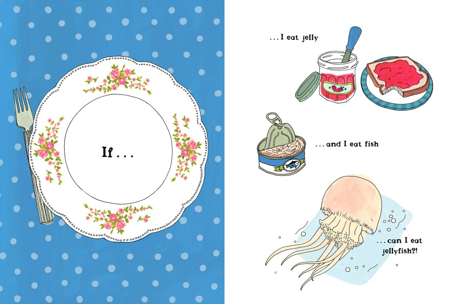 If I eat jelly and I eat fish, can I eat jellyfish?