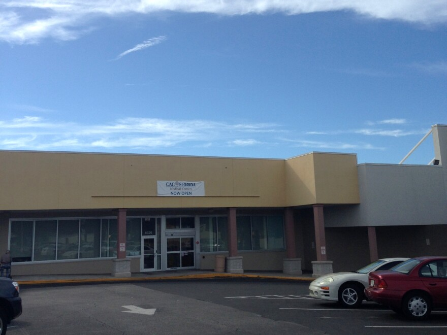 The CAC in Seminole Heights opened in September.