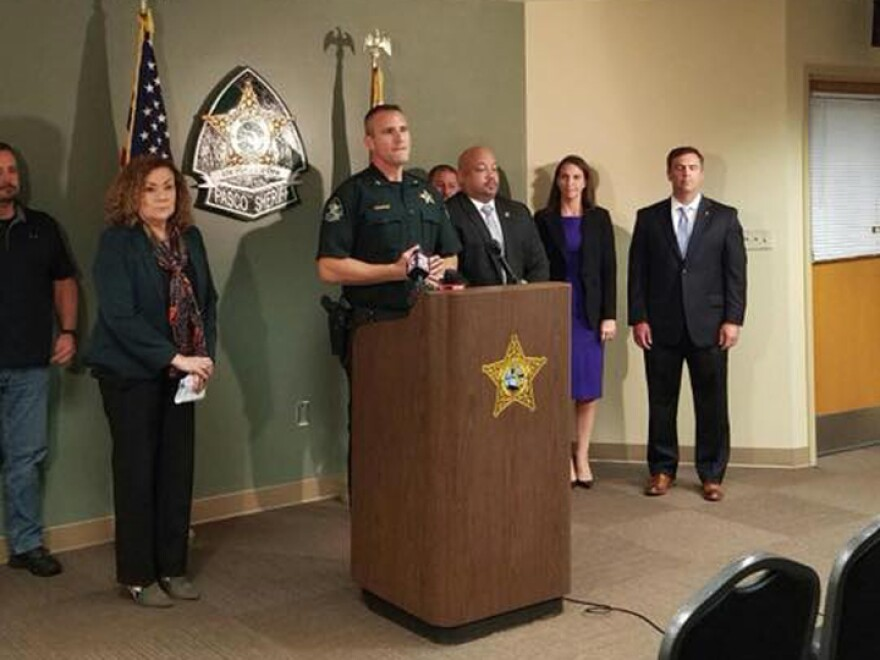 The investigation was carried out by the federal Bureau of Alcohol, Tobacco, Firearms and Explosives and the Pasco County Sheriff's Office.