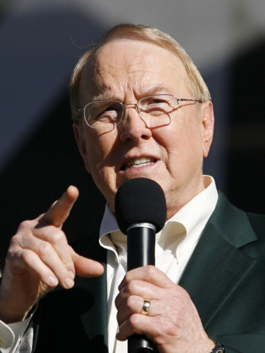 James Dobson, founder of Focus on the Family, in 2008.