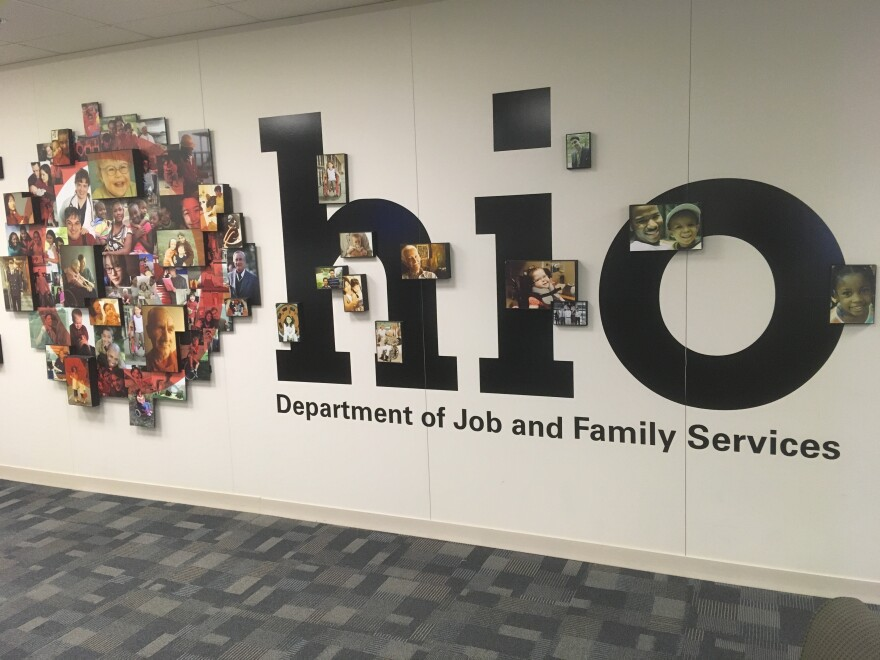 a photo of the Ohio Department of Job and Family Services