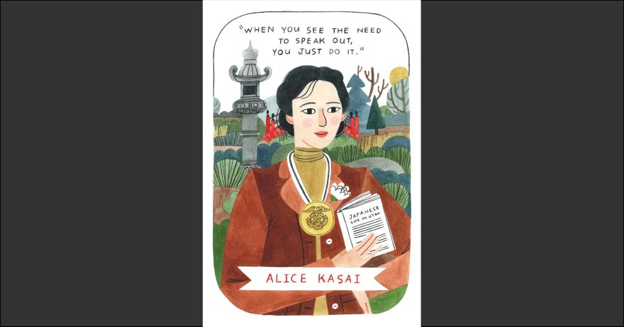 Illustration of Alice Kasai