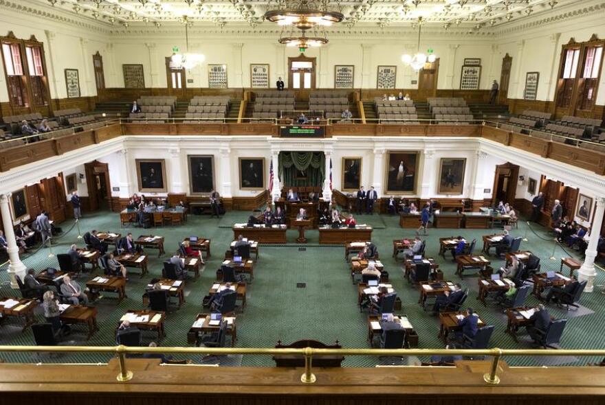 The Senate floor in March 2019.