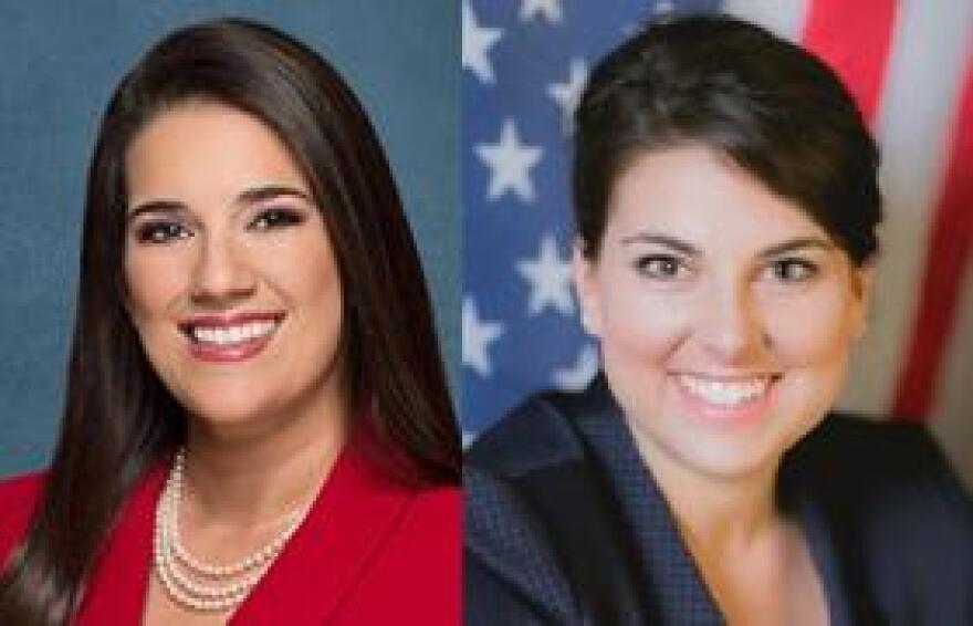 Sen. Anitere Flores (R-Miami), left, and Rep. Jennifer Sullivan (R-Mount Dora) are the bill's sponsors.