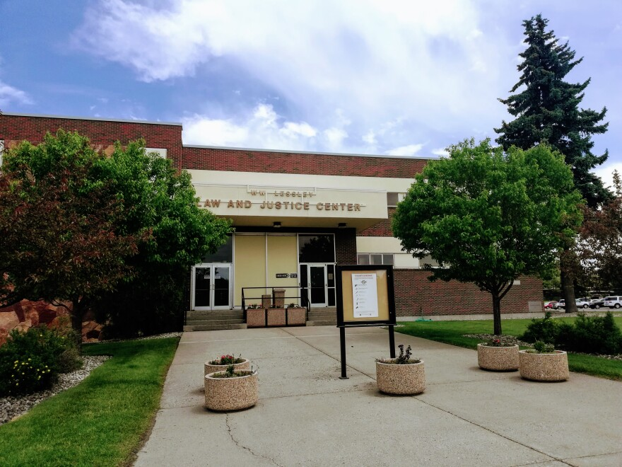 The Gallatin County Law and Justice Center in Bozeman, Montana, June 26, 2019.