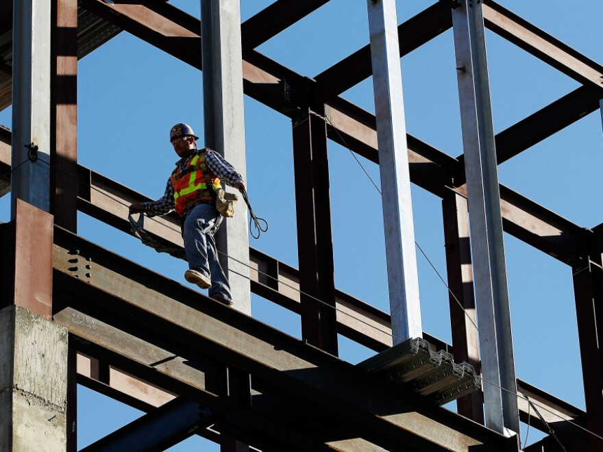<p>The construction sector added 26,000 jobs in September, reversing a drop a month earlier.</p>