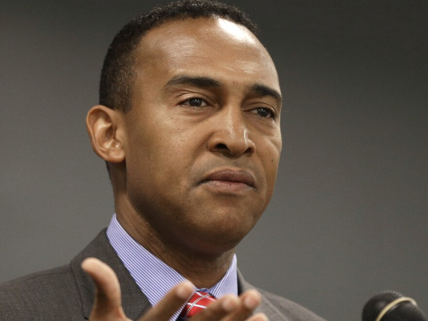Patrick Cannon, shown here in 2013, is expected to plead guilty Tuesday in a public corruption case.