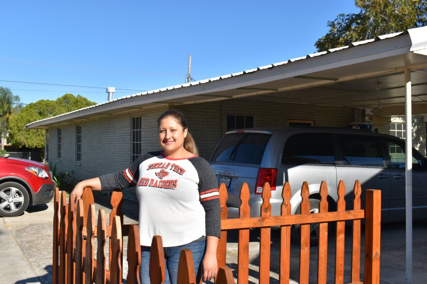 Isela Gonzalez Lindquist lives in Zapata and voted for Trump because of her Christian values, but she doesn't agree with Trump or Republicans on policies like a border wall.