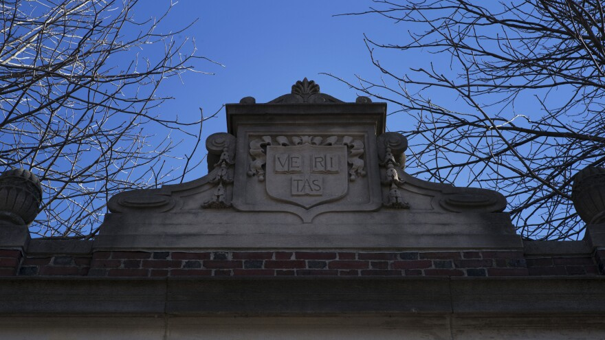 "A Harvard University representative says its new policy on sex between professors and students was created after a review found its old approach ""did not explicitly reflect the faculty's expectations."""
