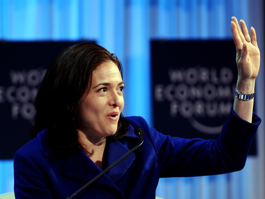 Facebook Chief Operating Officer Sheryl Sandberg was named Monday to the company's board of directors. Sandberg is the first woman on Facebook's board.