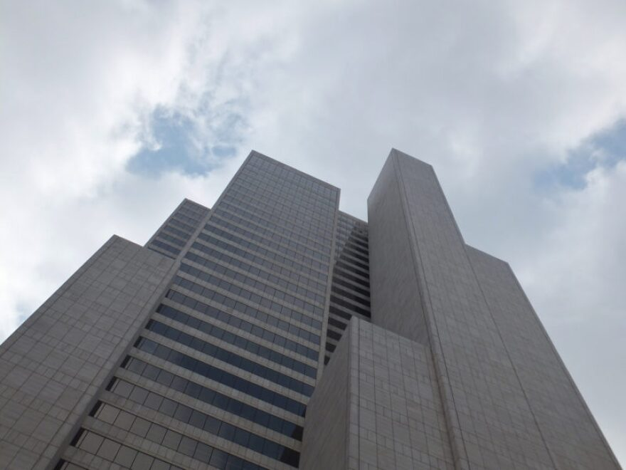 AT&T headquarters in Dallas, Whitacre Tower.