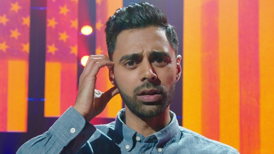 In <em>Homecoming King</em>, Minhaj talks about growing up caught between cultures.