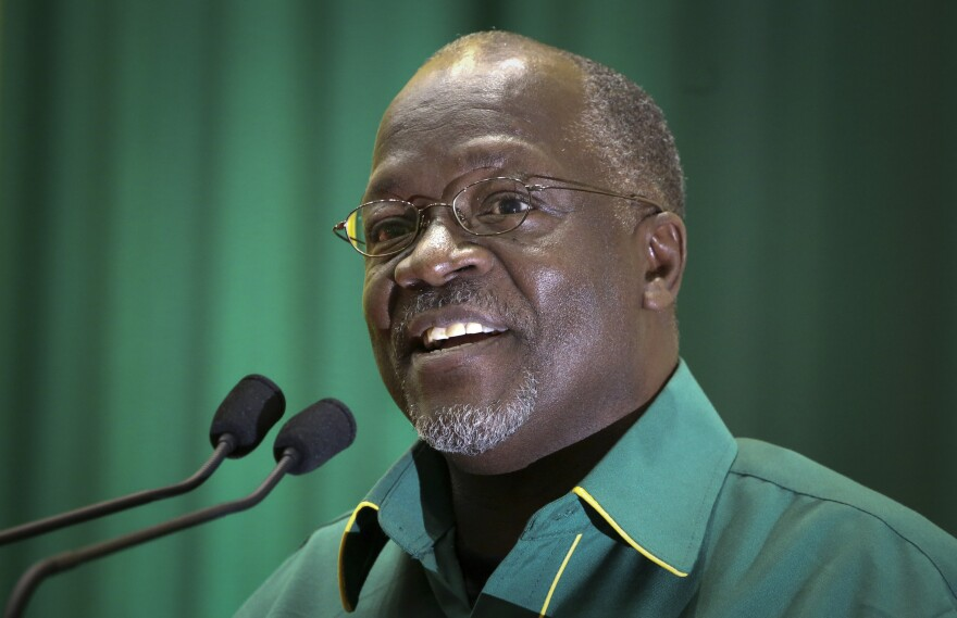 John Pombe Magufuli in July of 2015.