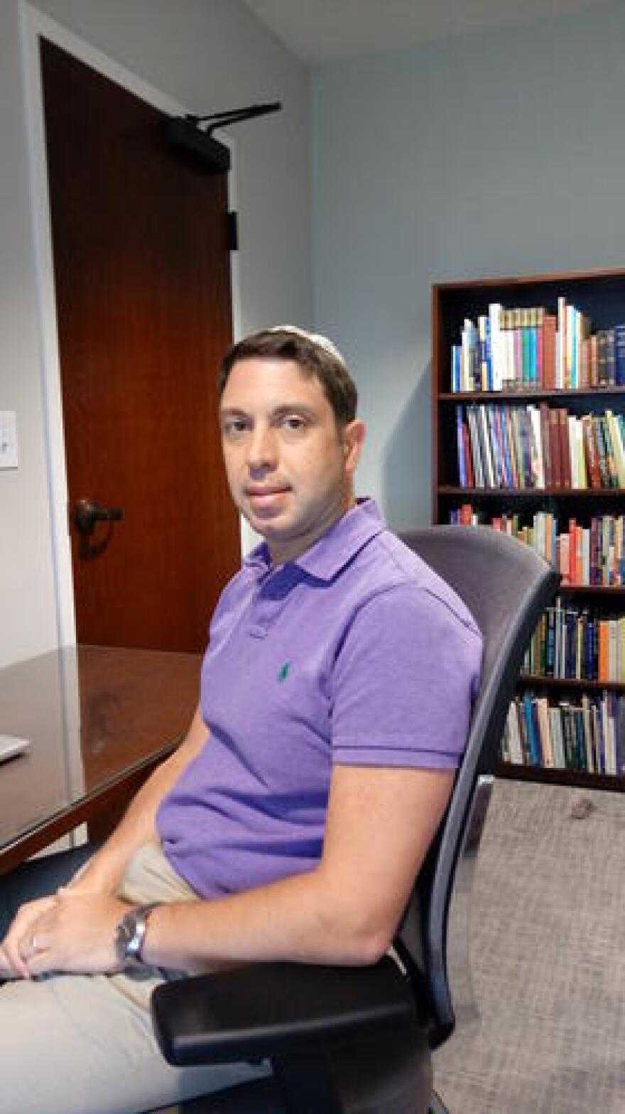 Rabbi Joel Fleekop, Temple Beth-el Pensacola.