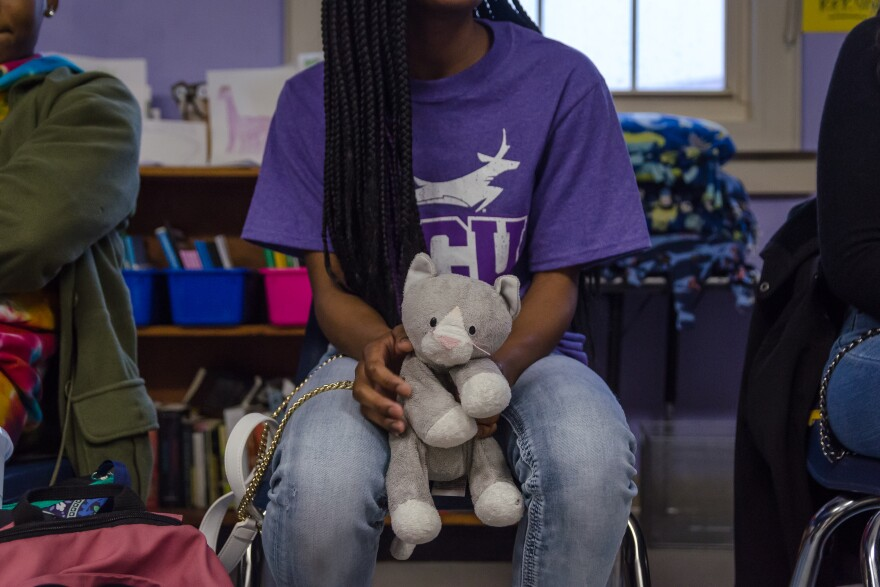 Restorative circles are a way for students to share feelings and talk through problems. Schools also use them to mediate conflicts.