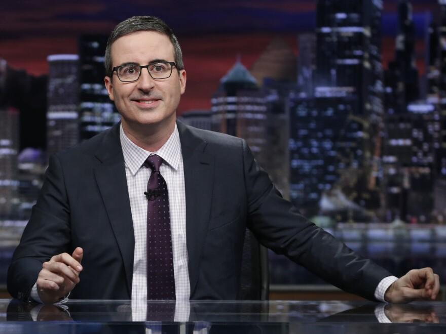 John Oliver's HBO show, <em>Last Week Tonight, </em>returned for its fifth season in February.