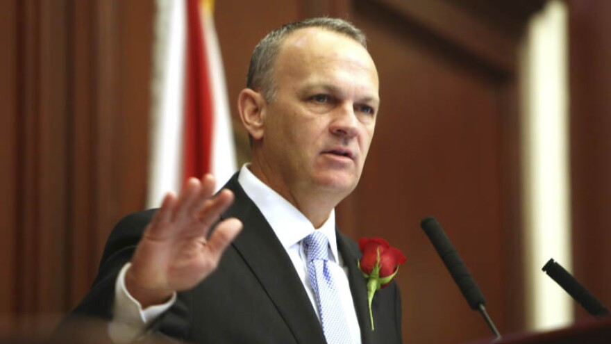 Under Richard Corcoran's plan, colleges with growing enrollment would get a funding boost. And the model also would create a process to support workforce programs that are more expensive. WIKIMEDIA COMMONS