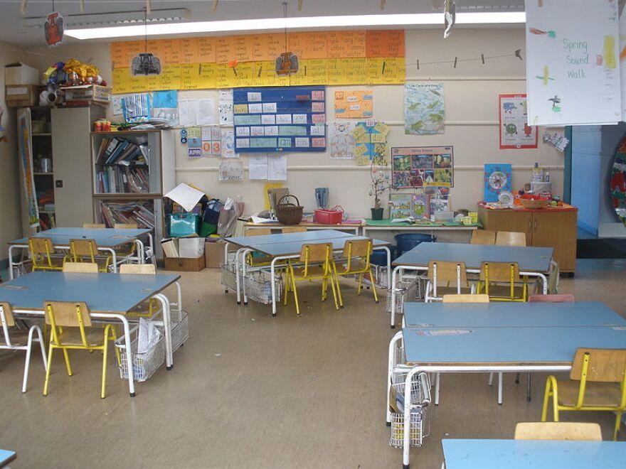 School Classroom, empty