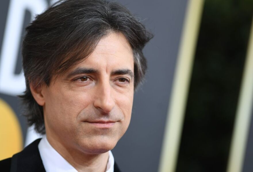 Noah Baumbach arrives for the 77th annual Golden Globe Awards on January 5, 2020. (Valerie Macon/AFP/Getty Images)