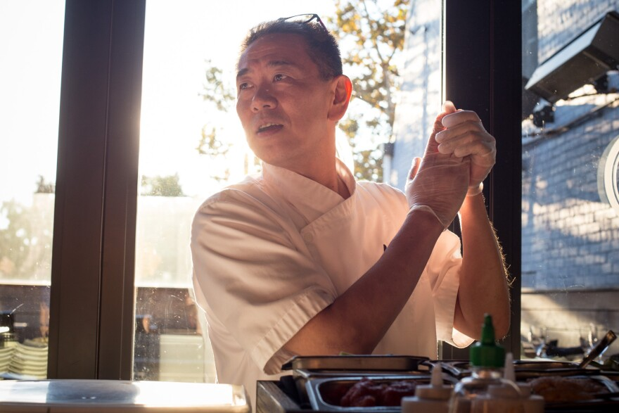 Kaz Okochi is the owner and master sushi chef at Kaz Sushi Bistro in Washington, D.C. He's bringing his craft to Masa 14, which just added sushi to the menu.