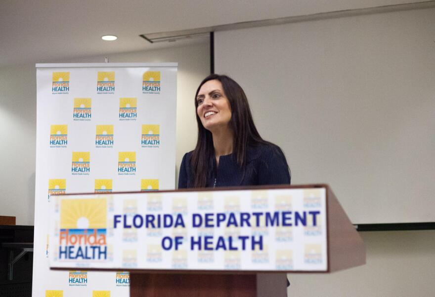 Lt. Gov. Jeanette Nunez spoke about measures in response to human trafficking in light of the Super Bowl on Jan. 27 2020.